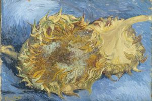 Gogh, Vincent van (1853-1890): Sunflowers, 1887. New York, Metropolitan Museum of Art*** Permission for usage must be provided in writing from Scala.